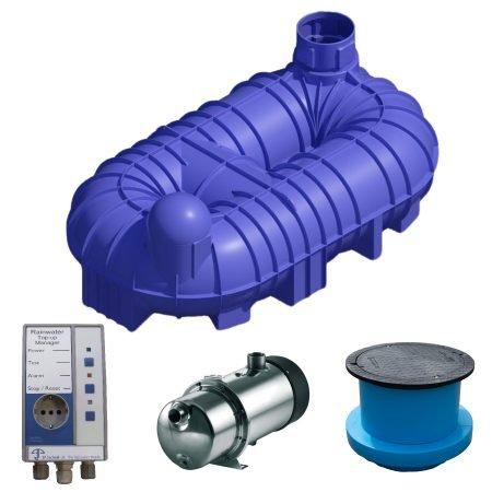 10000 litre rainwater harvesting system