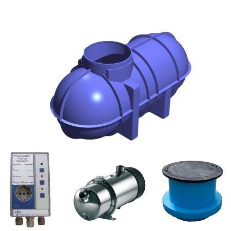 2600 litre rainwater harvesting system 1