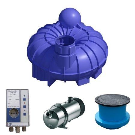 5200 litre rainwater harvesting system