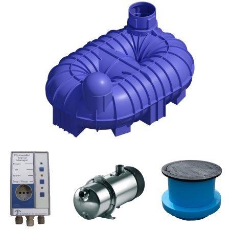 8400 litre rainwater harvesting system