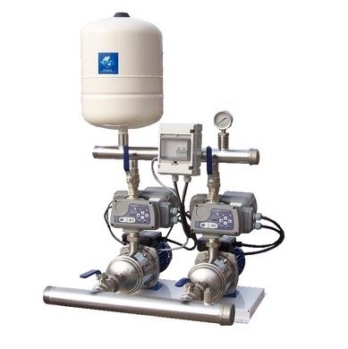 Cold water pressure booster set