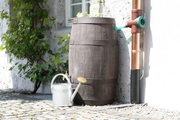 water butt 250 litre Barrique patio