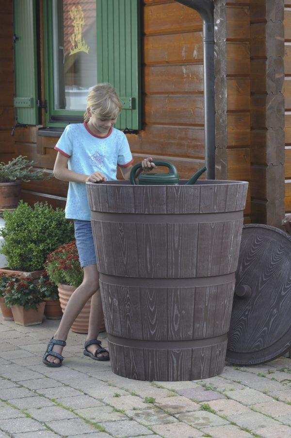 water butt 275 litre rustico dunking