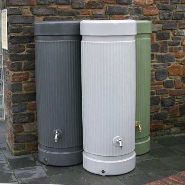 column water butts 300 litre