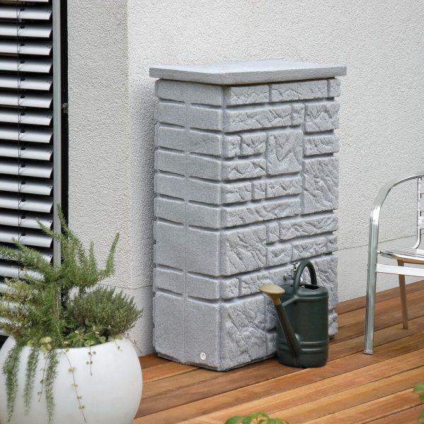 water butt 300 litre maurano granite deck