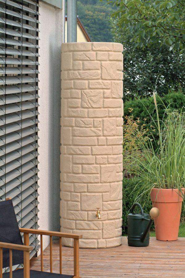 water butt 460 litre arcado sandstone