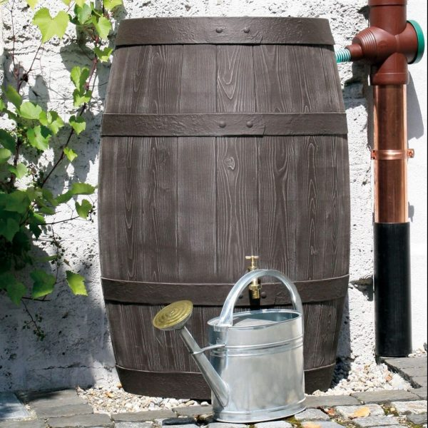 water butt 500 litre burgundy watering can