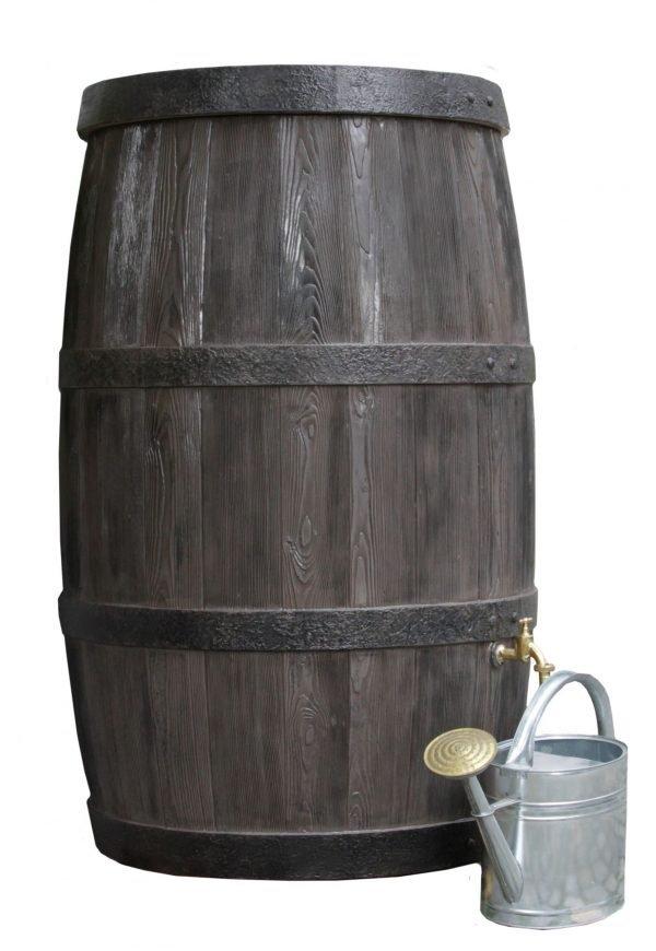 water butt 500 litre burgundy white