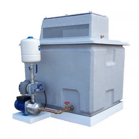 Cold Water Booster Set With Break Tank