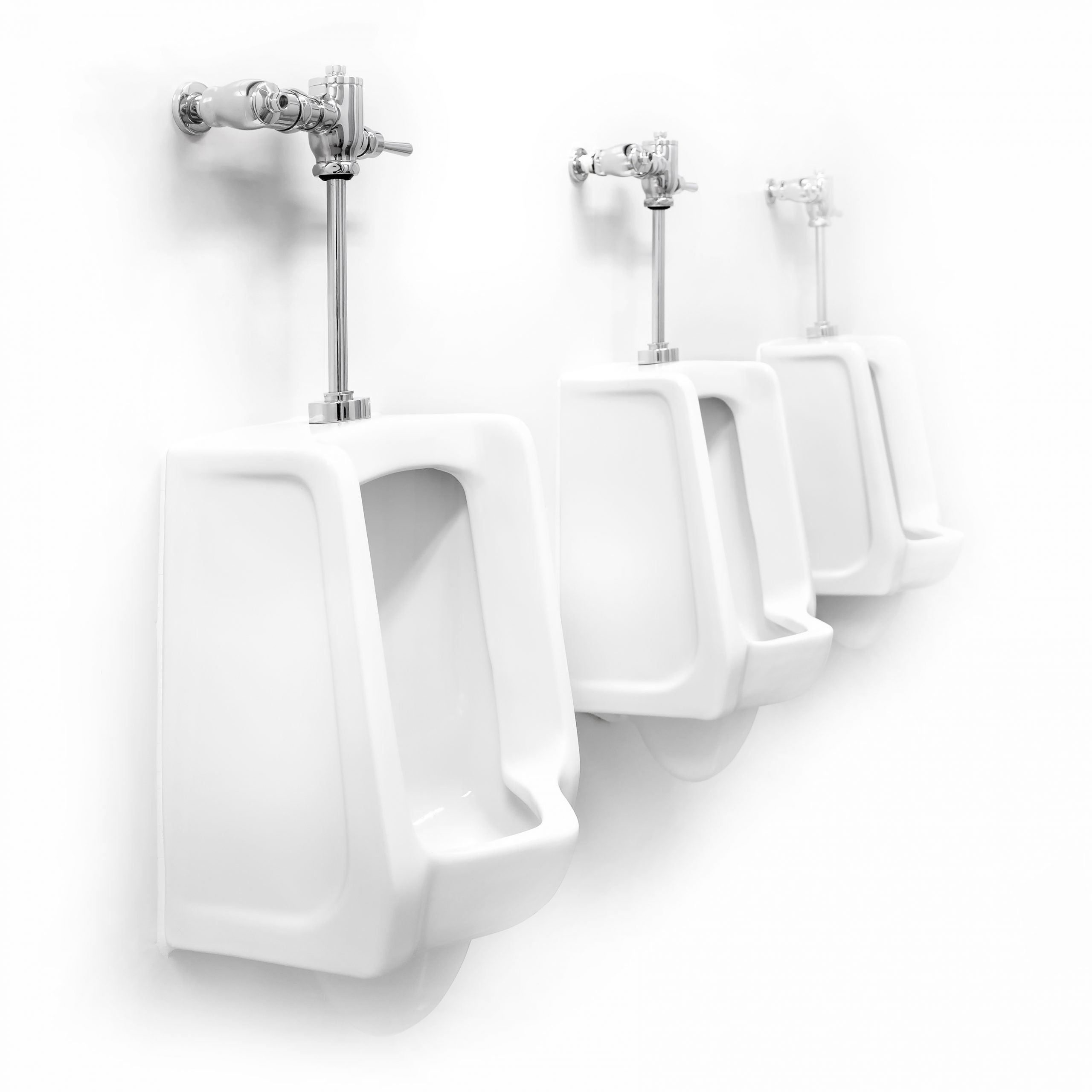 urinals flushed with rainwater