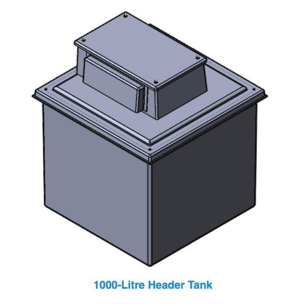 1000 Litre Header Tank