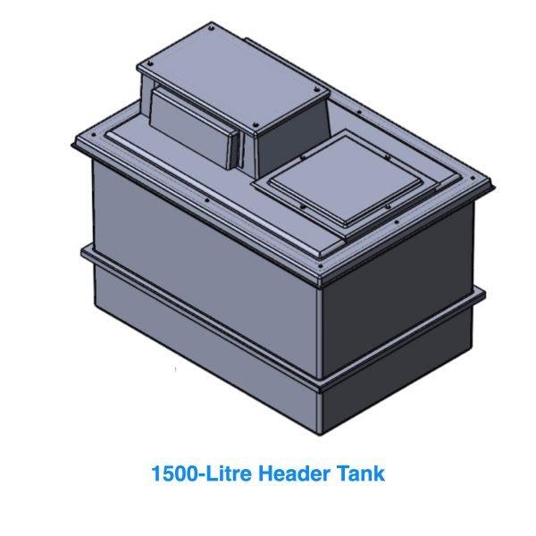 1500 litre header tank