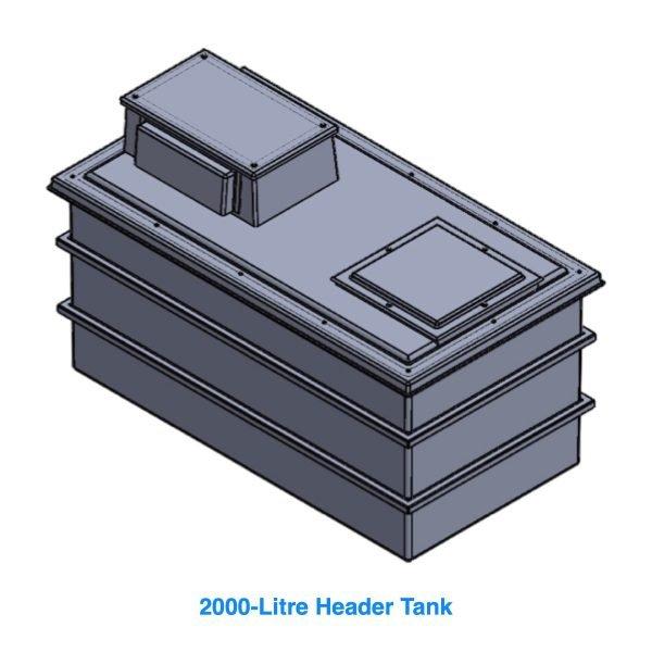 2000 Litre Header Tank