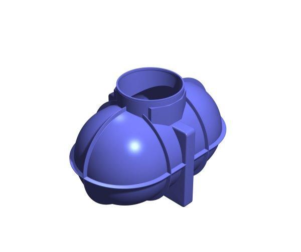 1800 litre underground rainwater tank