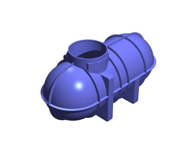 2600 litre Underground Rainwater Tank