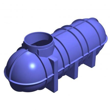 3400 Litre Underground Rainwater Tank