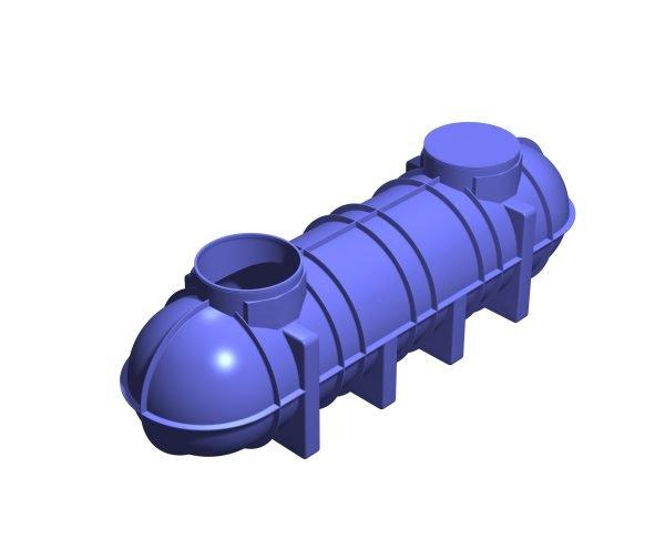 4400-Litre Underground Rainwater Tank