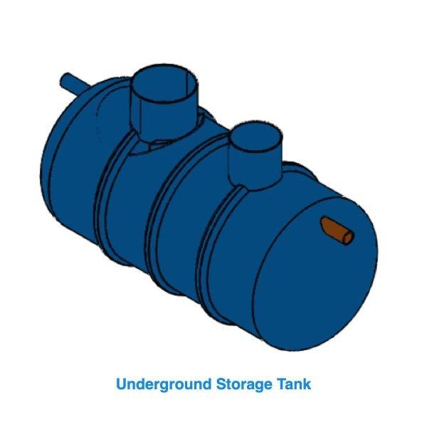 commercial underground rainwater tank