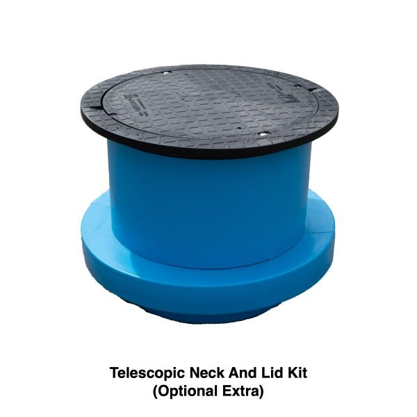 telescopic neck and lid kit