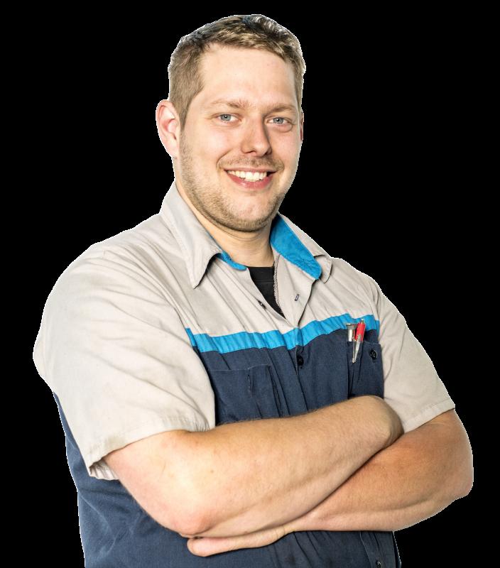 rainwater harvesting service and maintenance technician