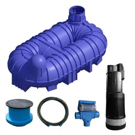 10000 litre garden rainwater harvesting system