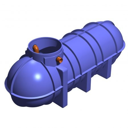 3400 litre underground grease trap