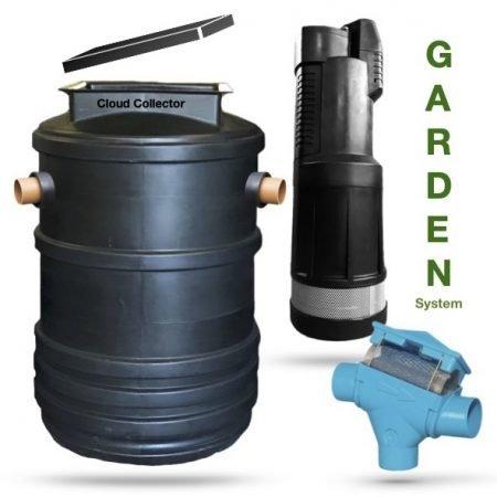 Garden Rainwater Harvesting System
