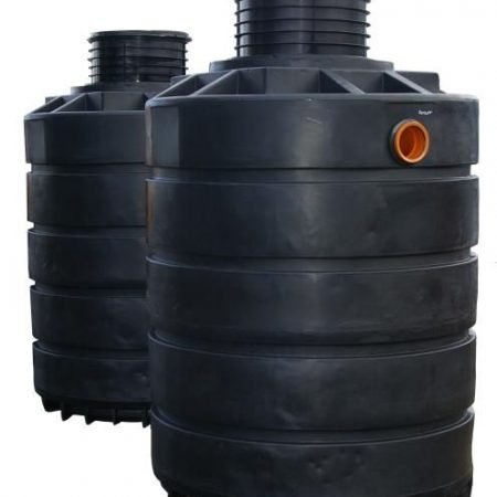 3800 litre dual septic tank