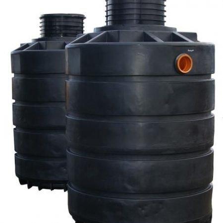 7400 litre dual septic tank