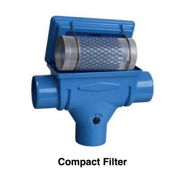 compact rainwater filter