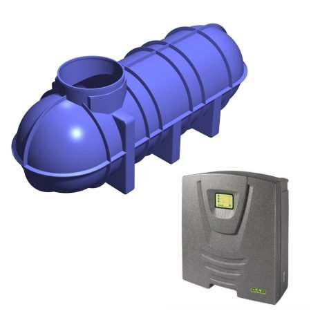 Suction Rainwater Harvesting Systems
