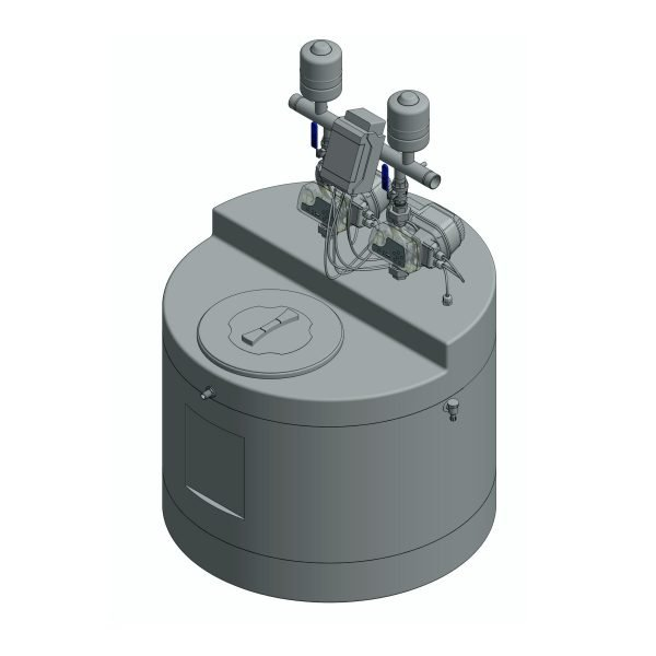 water pressure booster system 800 litre Twin Pump
