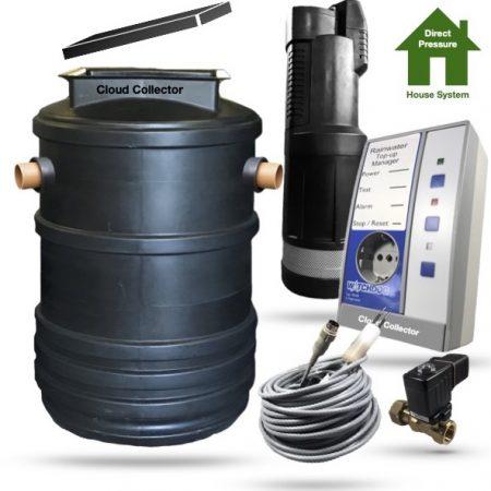 Direct Pressure Rainwater Harvesting System 2